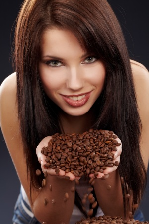 Caffeine in vine vera