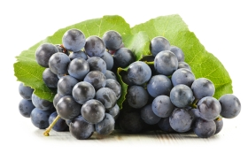 Grapes with redish Color