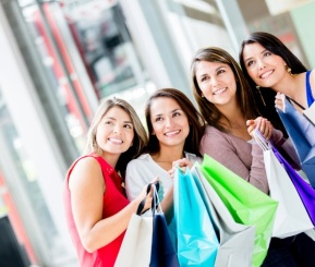 Spend Some Time Shopping with Your Ladies