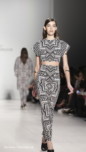 Mara Hoffman New York Fashion Week runway show.
