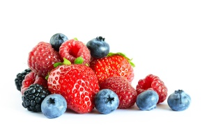 Produce like berries is an important part of a healthy diet