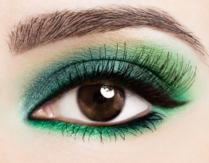 Brown eyes are versatile- any brights look great on them