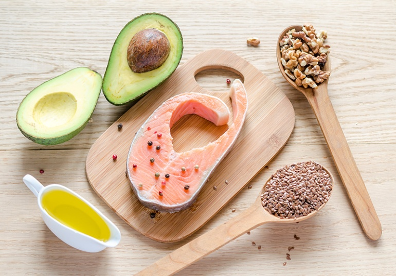 Eating healthy fatty acids like Omega-3s is healthy