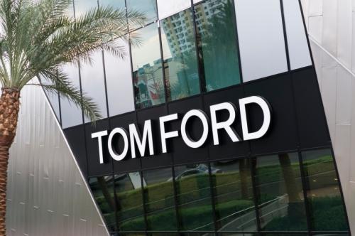 Outside of Tom Ford designer store