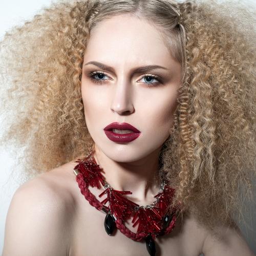 Marsala inspired makeup
