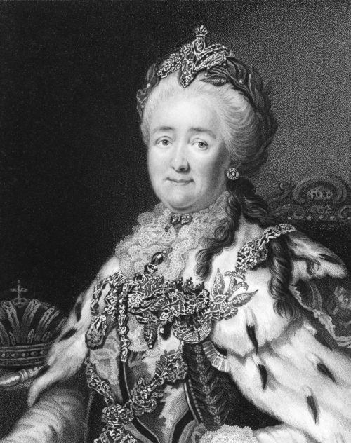 Image of Catherine II, also known as Catherine the Great.