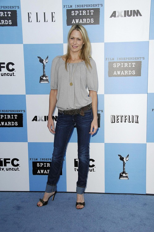 Robin Wright Penn at the Film Independent Spirit Awards, 2007.