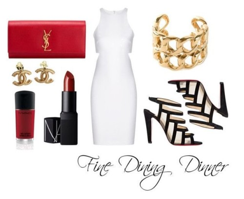 Fine dining outfit ideas.
