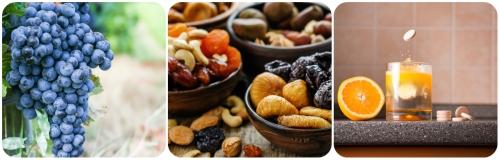 Anti-aging ingredients collage
