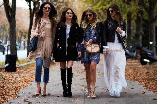 Women in street style