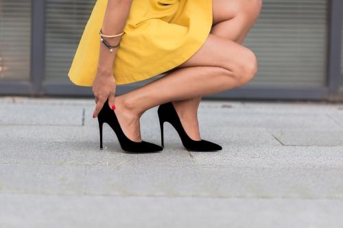 Thin stilettos