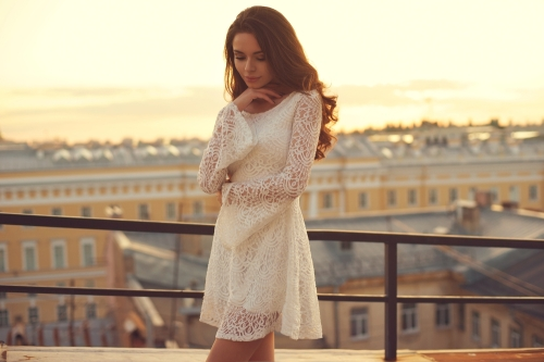 Vine Vera Lace dress